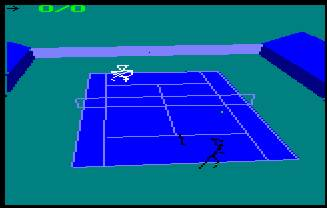 Pantallazo de International 3d Tennis para Amstrad CPC