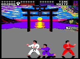 Pantallazo de International Karate para Amstrad CPC
