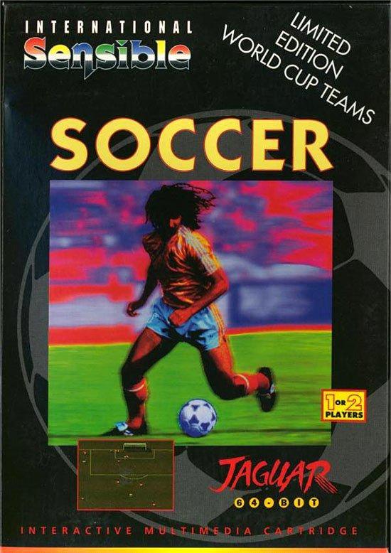 Caratula de International Sensible Soccer para Atari Jaguar