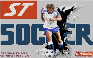 Pantallazo de International Soccer para Atari ST