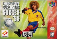 Caratula de International Superstar Soccer '98 para Nintendo 64