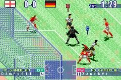 Pantallazo de International Superstar Soccer para Game Boy Advance