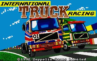 Pantallazo de International Truck Racing para Atari ST