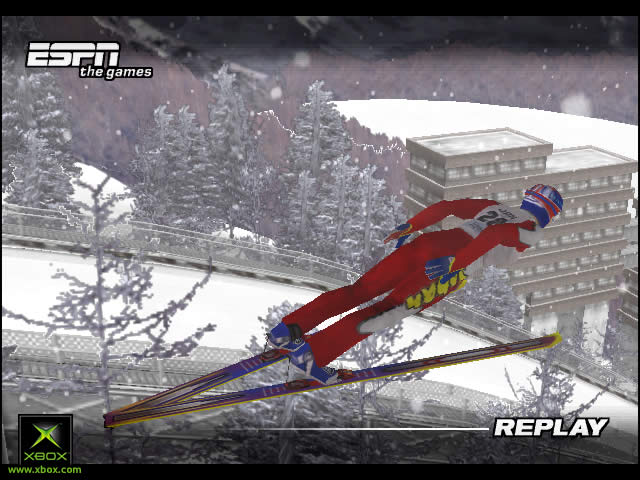 Pantallazo de International Winter Sports 2002  para Xbox