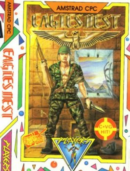 Caratula de Into The Eagle's Nest para Amstrad CPC