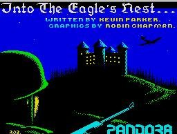 Pantallazo de Into the Eagle's Nest para Spectrum