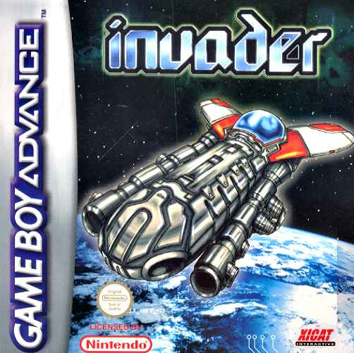 Caratula de Invader para Game Boy Advance
