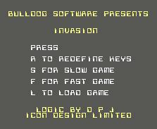 Pantallazo de Invasion 2 para Commodore 64