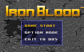 Pantallazo de Iron Blood para PC