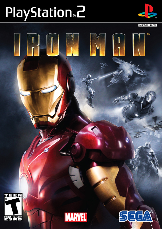 Caratula de Iron Man para PlayStation 2