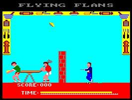 Pantallazo de It's A Knockout para Amstrad CPC