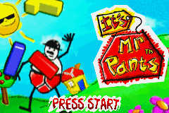 Pantallazo de It's Mr Pants para Game Boy Advance