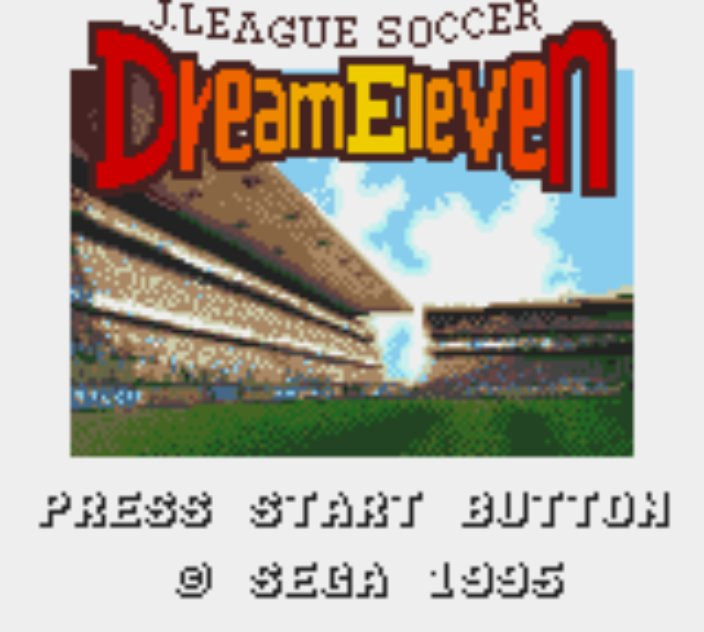 Pantallazo de J-League Soccer: Dream Eleven (Japonés) para Gamegear