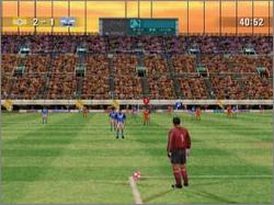 Pantallazo de J. League Spectacle Soccer para Dreamcast