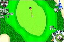 Pantallazo de JGTO Golf Master: Japan Tour Golf Game para Game Boy Advance