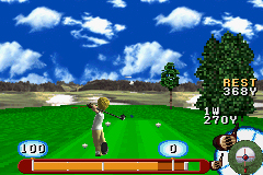 Pantallazo de JGTO Golf Master Mobile (Japonés) para Game Boy Advance