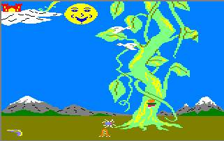 Pantallazo de Jack And The Beanstalk para Amstrad CPC
