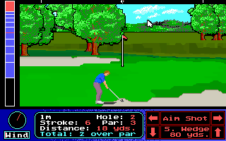 Pantallazo de Jack Nicklaus Presents The International Course Disk para PC