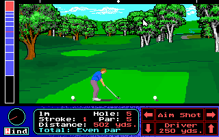 Pantallazo de Jack Nicklaus' Unlimited Golf & Course Design para PC