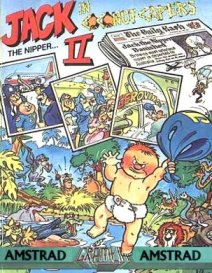 Caratula de Jack the Nipper II: In Coconut Capers para Amstrad CPC