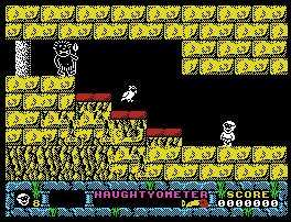 Pantallazo de Jack the Nipper II: In Coconut Capers para MSX