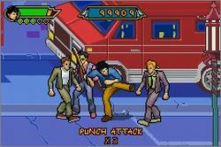 Pantallazo de Jackie Chan Adventures: Legend of the Dark Hand para Game Boy Advance