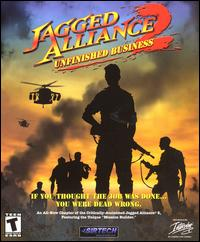 Caratula de Jagged Alliance 2: Unfinished Business para PC
