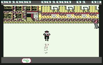 Pantallazo de Jail Break para Commodore 64