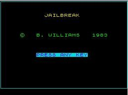Pantallazo de Jail Break para Spectrum