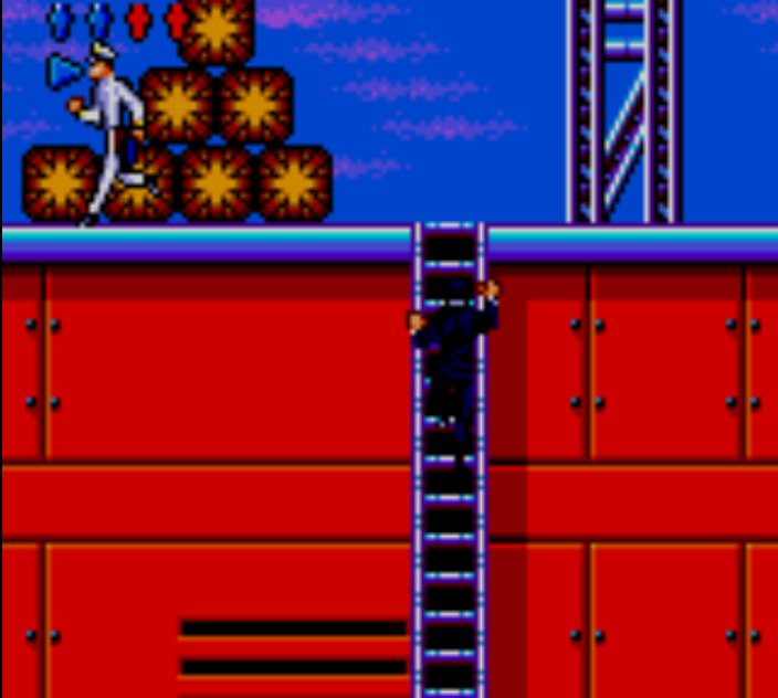 Pantallazo de James Bond: The Duel para Gamegear