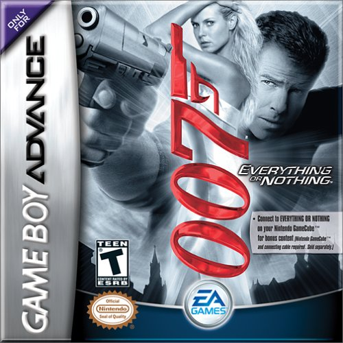 Caratula de James Bond 007: Everything or Nothing para Game Boy Advance