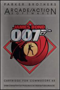 Caratula de James Bond 007 para Commodore 64