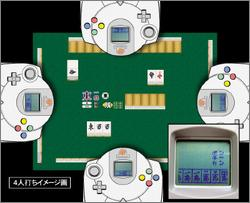 Pantallazo de Japan Pro Mahjong League Ranking Edition para Dreamcast