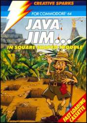 Caratula de Java Jim para Commodore 64