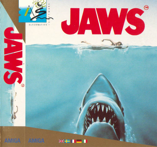 Caratula de Jaws: The Computer Game para Amiga
