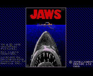 Pantallazo de Jaws: The Computer Game para Amiga