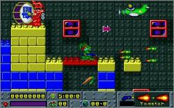 Pantallazo de Jazz Jackrabbit: Holiday Hare 1995 para PC