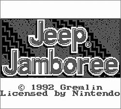 Pantallazo de Jeep Jamboree para Game Boy