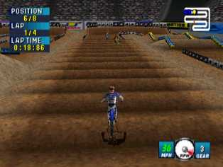 Pantallazo de Jeremy McGrath Supercross 2000 para Nintendo 64