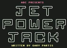 Pantallazo de Jet Power Jack para Commodore 64