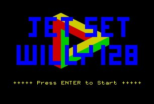 Pantallazo de Jet Set Willy 128K para Spectrum