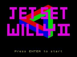 Pantallazo de Jet Set Willy 2: The Final Frontier para Spectrum
