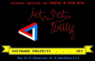 Pantallazo de Jet Set Willy 2 para Amstrad CPC