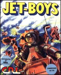 Caratula de Jet-Boys para Commodore 64