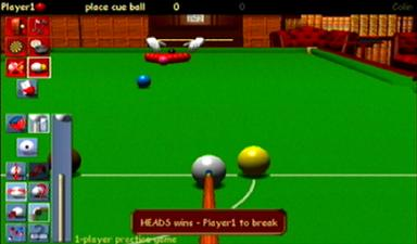 Pantallazo de Jimmy White's 2: Cue Ball para Dreamcast