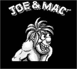 Pantallazo de Joe & Mac para Game Boy