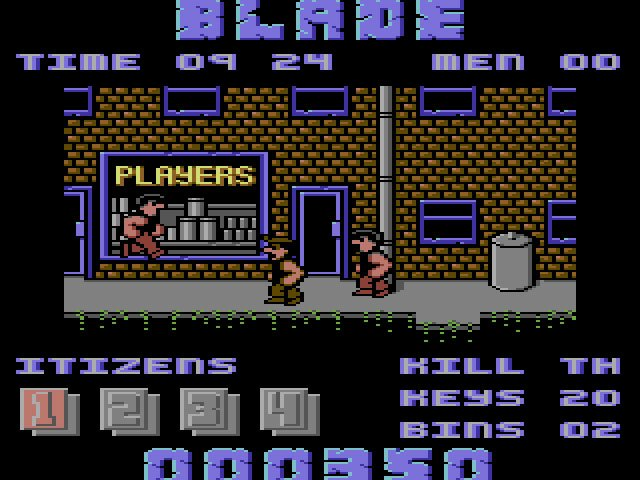 Pantallazo de Joe Blade II para Commodore 64