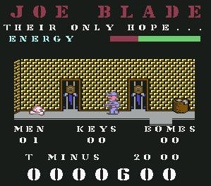 Pantallazo de Joe Blade para Commodore 64
