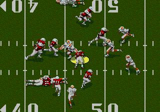 Pantallazo de Joe Montana II Sports Talk Football para Sega Megadrive