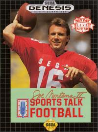 Caratula de Joe Montana II Sports Talk Football para Sega Megadrive